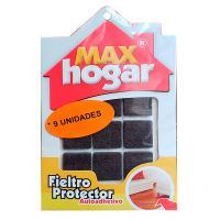 Fieltro Protector 24 x 24 x 3 mm Café x9und