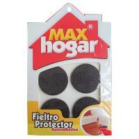 Fieltro Protector 40 x 3 mm Café x4und