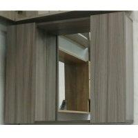 Gabinete con Espejo 2 Puertas 80X60 Parma
