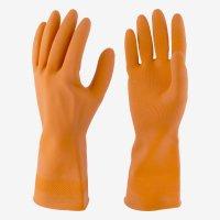 Guante Antibacterial Talla 8 + Paño Látex Natural Mandarina