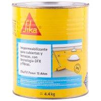 Impermeabilizante con Tecnología DFX Cubiertas Terrazas Blanco x4.4kg