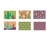 Individual Cactus 28.5X44 Cm