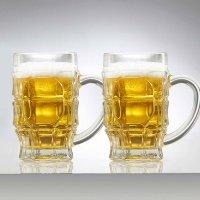 Jarro Cervecero 525 ml Vidrio x2und