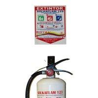 Kit Soporte Extintor Solkaflam