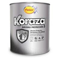 Koraza Exteriores 5 Años Blanco x1/4gal