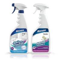 Limpiador Desinfectante 700Ml + Limpiador Juntas 700