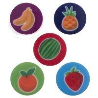 Magneto 28 mm Frutas x5und
