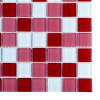 Malla 30 cm x 30 cm 4 mm Cristal GM30-RD-01 Roja