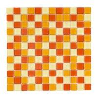 Malla Cristal Naranja 30x30cm 4mm