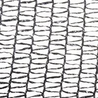 Malla Protección Fachada Negra 3mt X 1mt