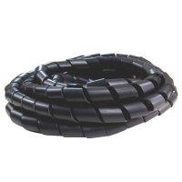 """Manguera Espiral Cables 1/2"""" ES2MG2AF35 Negra x5m"""