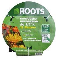 Manguera Liviana 1/2Pg X 15Mt + Adaptadores Roots