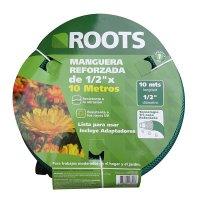 Manguera Liviana de 1/2Pg X 10M + Adaptadores Roots