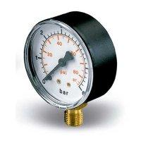 Manómetro 63 mm MR6 0 - 90 Psi