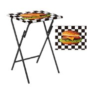 Mesa Multiuso 48X38X66 Pop Burger