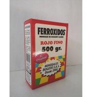 Mineral Corriente Ferroxido Rojo X 500gr