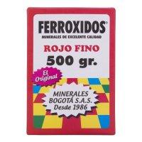 Mineral Corriente Ferróxido Rojo x500g