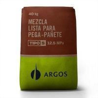 Mortero Seco Pega-Pañete Tipo S x40Kg Argos