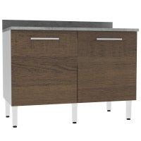 Mueble Inferior Estructura Bento 120Cm Rustico