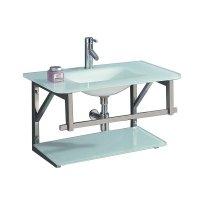 Mueble para baño Vidrio Blanco 80 X 50 X 50 Cm