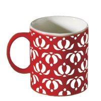 Mug 310Cc Etnicos Rojo