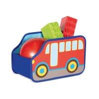 Organizador Infantil 32.5 cm x 20 cm x 21 cm 935447 Bus Polipropileno