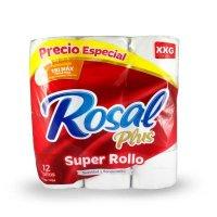 Papel Higienico  Rosal Xxg 12 Roll X35M