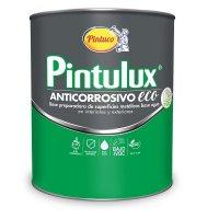 Pintulux Anticorrosivo Eco Base Agua Gris 1/4 Galón