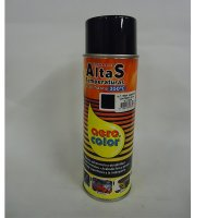 Pintura Altas Temperaturas Negro Brillante x400 ml