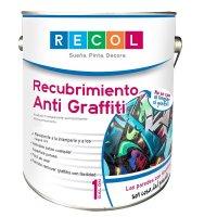 Pintura Antigraffiti Transparente 1 Gl