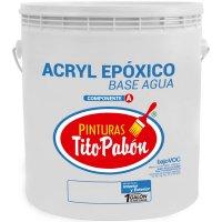 Pintura Epox Base Agua 1gl Blanco