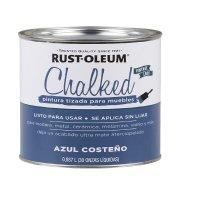 Pintura Tizada Chalked Brochable Azul Costeño 1/4 Gl