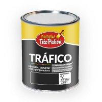 Pintura Trafico 1/4 Gl Amarillo