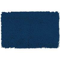 Piso Baño Shaggy 40X60 Cm Azul