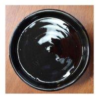 Plato Esmaltado 13 cm Negro