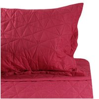 Quilt Doble Liso Fucsia Cotidiana
