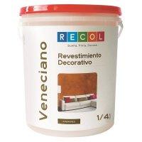 Revestimiento Decorativo Veneciano Almendra x1/4gal