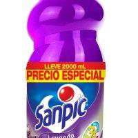 Sanpic Lavanda Pague 1500 Lleve 2000ml PE