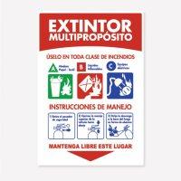 Señal Extintor 20Lb Soport C20 35X24Cm