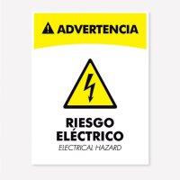 Señal Riesgo Electrico C20 21X16Cmcm