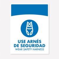 Señal Use Arnes C20 21X16Cm