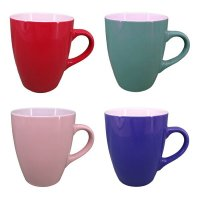 Set 4 Mugs Basico Liso Oi20