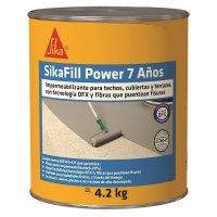 Sikafill-7 Power Rojo 4.2 Kg