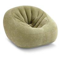 Silla Inflable Intex Verde 124 X 119 cm