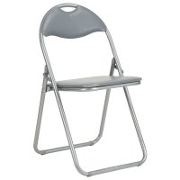 Silla Plegable Auditorium Gris