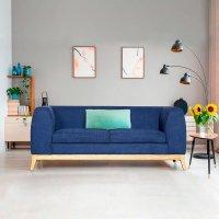 Mueble Sofa Victoria Riad Azul