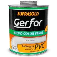 Soldadura Pvc Verde 900 Gr-1/4 Gl Gerfor