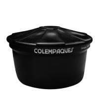 Tanque Agua Bajito 500 Litros Negro Colempaques
