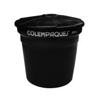 Tanque Agua Conico 500 Litros Negro Colempaques