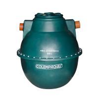 Tanque Filtro Anaerobico Colempaques Ovoide 500 Litros Verde Colempaques